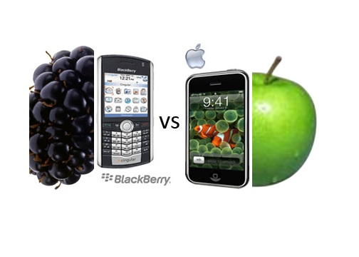 Blckberry vs Apple