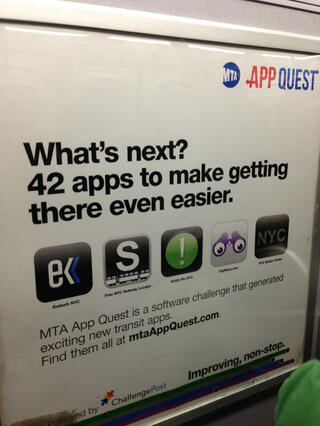 Subway apps