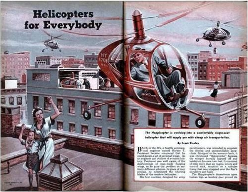 Helicopters for everyone