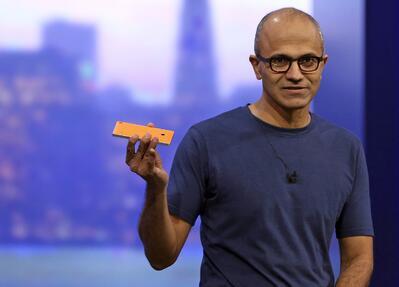 Satya Nadella, CEO Social Media