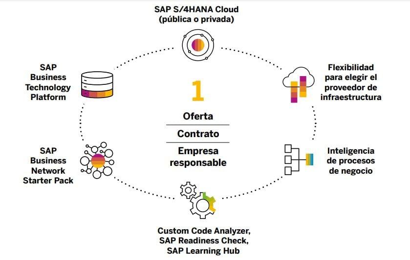 RISE with SAP esquema