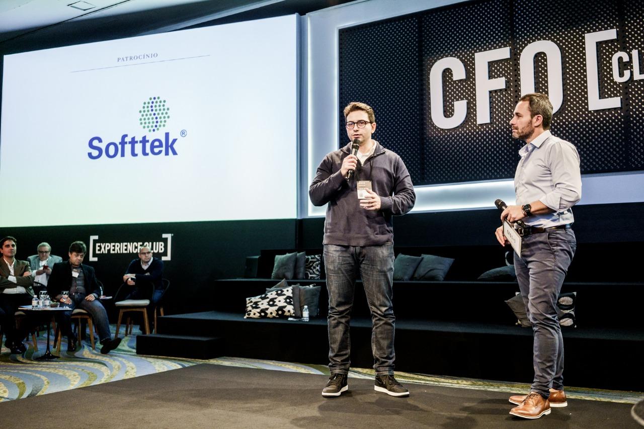 imagem da Softtek Brasil presente em mais uma edição do Fórum CFO Week